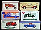 6 Die-Cast Bank Cars / Trucks, Eastwood Co., ERTL