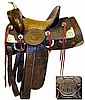 R.T. Frazier Western Saddle, Pueblo Colorado