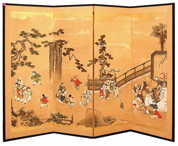 Asian Theme Room Divider