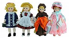 4 Pc. Madame Alexander Doll Lot #1