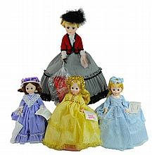 4 Pc. Madame Alexander Doll Lot #2