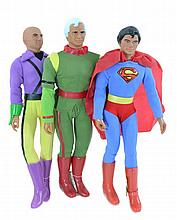 1977 Mego Worlds Greatest Super Heroes Doll Lot
