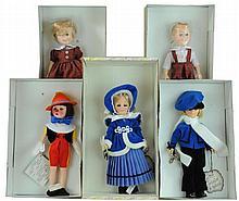 5 Pc. Effanbee Doll Lot #2