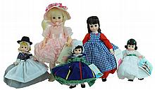 5 Pc. Madame Alexander Doll Lot #4