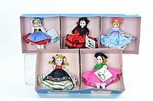 5 Pc. Madame Alexander Doll Lot #7