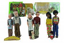 1970s Mattel The Sunshine & Happy Family Dolls