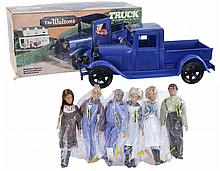 7 Pc. 1975 Mego The Waltons Truck & Doll Lot