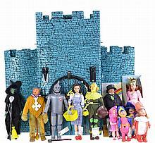 1974 Mego Wizard Of Oz Castle Playset & Figures