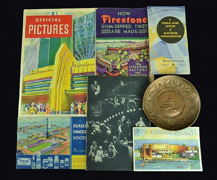 Century of Progress 1933 World's Fair brochures,