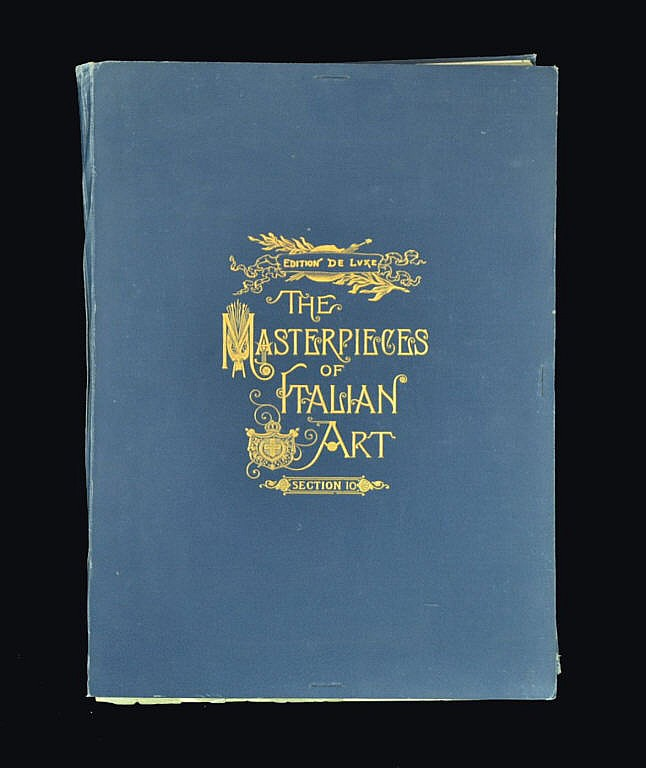Book of engravings The Masterpieces of Italian Art