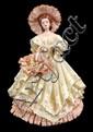 Porcelain Southern Belle Figurine Estelle