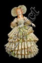 Welsh Porcelain Figurine of a Southern Belle