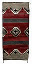 Native American Rug, Crystal Pattern