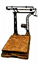 #4 Antique Fairbanks Platform Scale with Weights