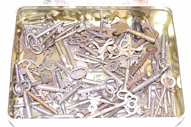 Box of Assorted Keys