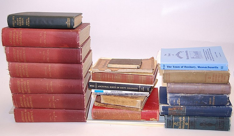 Lot of Early New England Books