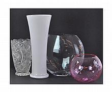 4 Pc. Miscellaneous Glassware Lot
