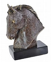 DeCesar Ltd. Ed. Cast Bronze Horse Head