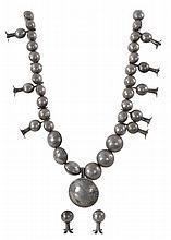 Squash Blossom Necklace Mercury Dime Morgan Dollar