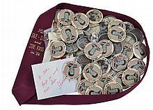 1950s Joe Foss Political Button & Tie Lot