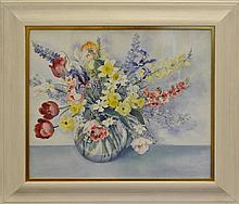 Cora H. Wilcox (1882-1964) Watercolor Painting