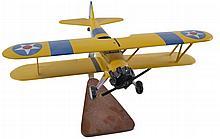 U.S. Navy Desktop Model Airplane