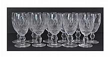 11 Waterford Crystal Sherry Glass Lot Colleen