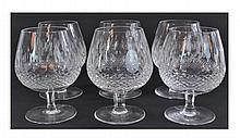 Set of 6 Waterford Crystal Colleen Brandy Snifter