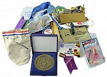 50 Pc. Joe Foss Miscellaneous Accessory Lot