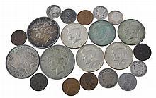 Morgan & Peace Dollar, Kennedy Half Dollar Lot