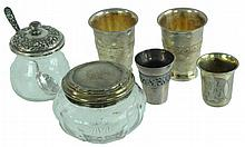 6 Pc. Mixed Sterling & Silver Lot