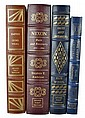 (4) Signed 1st Edition, Easton Press, Franklin