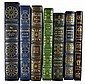 (7) Easton Press Leather Collector Books