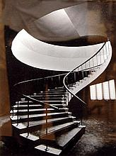 Black & White Architectural Photograph, Staircase