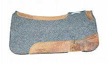 Felt & Leather Western Saddle Pad