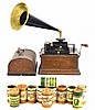 Antique Edison Fireside Phonograph, Model B