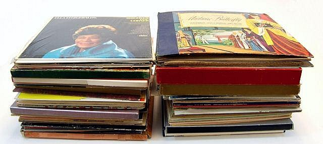 Vintage Records w/ Classical, Musicals, Jazz