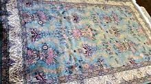 Persian Tabriz pattern Rug Indian hand woven 5?10? x 8