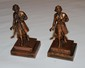 Girl Scouts Bookends by M.Daurgorfeld