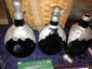 Lot of Three European Wine Decanters