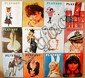 Vintage 1966 Playboy Magazines (12 Issues)