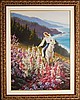Zu Ming Ho, Original Oil on Canvas, Hand Signed