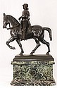 Soldier On Horse Bronze