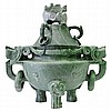 MASSIVE Jade Incense Censer/Burner
