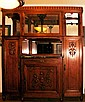 Large Art Deco Antique Armoire/Wardrobe