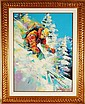 Malcom Farley, Fresh Powder, Hand Signed