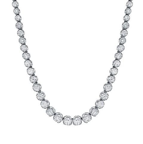 Elegant 16 TCW Diamond Necklace