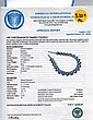 94.30ct Sapphire & 1.35ct Diamond Necklace