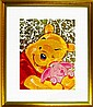 David Willardson Pooh & Piglet Signed LTD Ed.