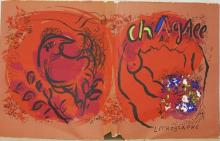 Marc Chagall, Color Lithograph Book Cover